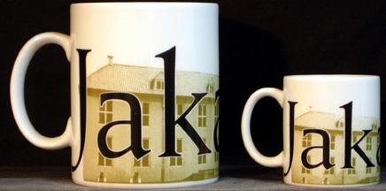 Starbucks City Mug Jakarta Mini