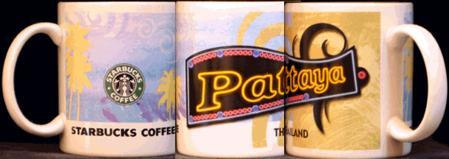 Starbucks City Mug Pattaya