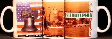 Starbucks City Mug Philadelphia