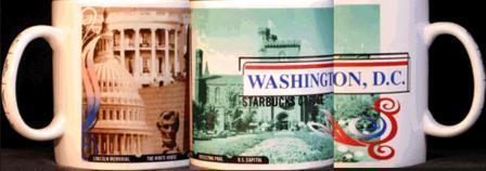 Starbucks City Mug Washington D.C.