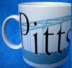 Starbucks City Mug Pittsburgh
