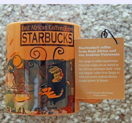 Starbucks City Mug East African coffees from Starbucks, 2004