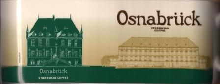 Starbucks City Mug Osnabrück - Osnabrück Castle