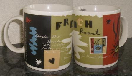 Starbucks City Mug French Roast Mug, 1998