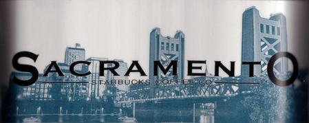 Starbucks City Mug Sacramento - Capital City 18 oz Mug