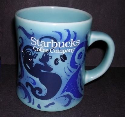 Starbucks City Mug Starbucks - Light Blue Mermaid