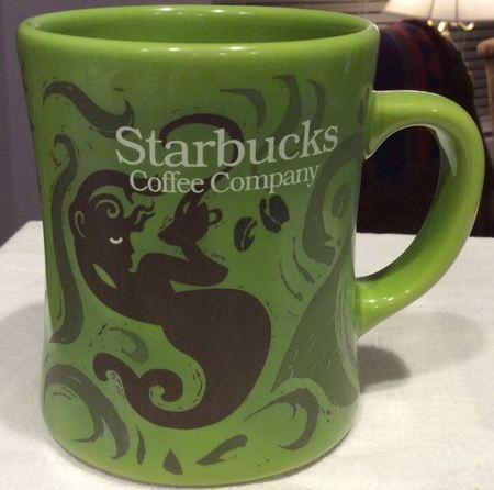 Starbucks City Mug Starbucks - Light Green Mermaid