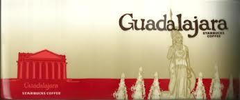 Starbucks City Mug Guadalajara  - Minerva Statue