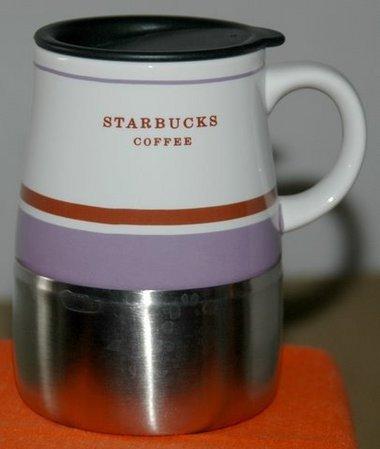 Starbucks City Mug Desk Top Style Mug - Pink and brown