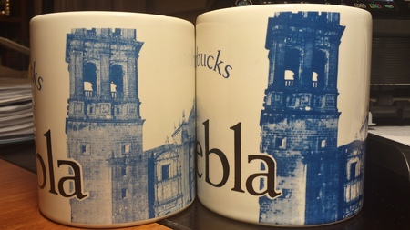 Starbucks City Mug Puebla 16 Oz