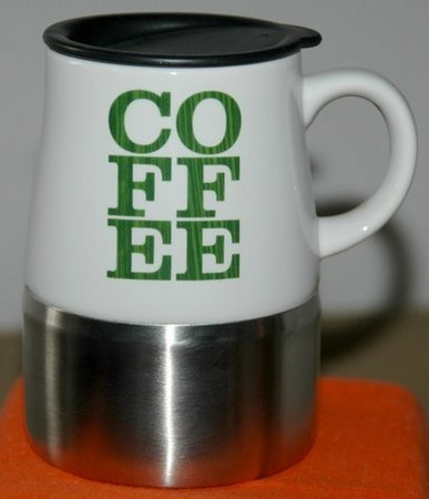 Starbucks City Mug Desk Top Style Mug - White and green COFFEE