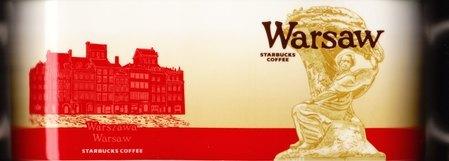 Starbucks City Mug Warsaw - Frederic Chopin Statue