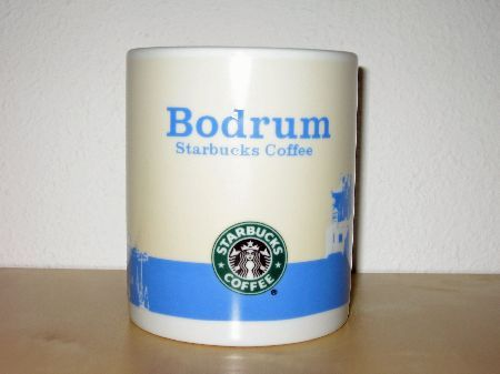 Starbucks City Mug Bodrum old logo