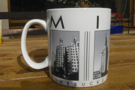 Starbucks City Mug Miami