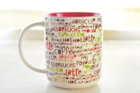Starbucks City Mug Little Words