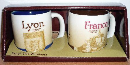 Starbucks City Mug Lyon - Shield