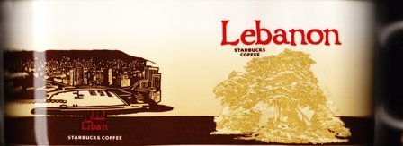 Starbucks City Mug Lebanon - Lebanon Cedar