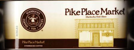 Starbucks City Mug Pike Place Market - First Starbucks Store