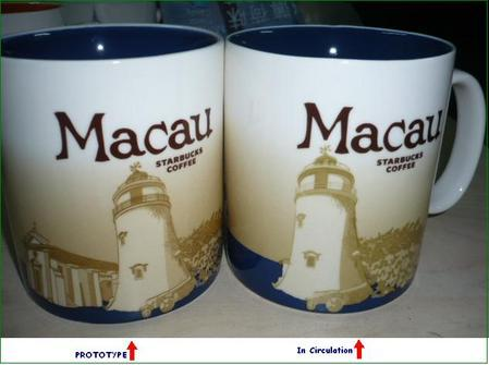 Starbucks City Mug Macau - Prototype