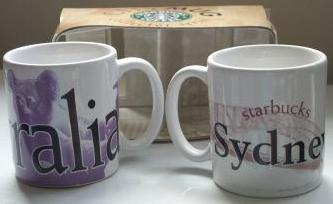 Starbucks City Mug Sydney - Demitasse