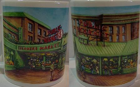 Starbucks City Mug Farmers market