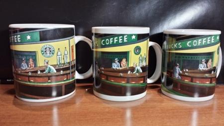 Starbucks City Mug Hopper Nighthwaks Mug-Chaleur version