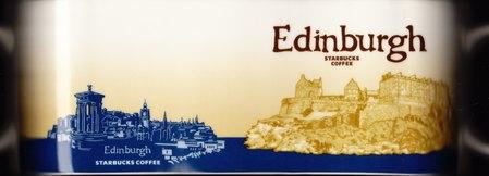 Starbucks City Mug Edinburgh - Edinburgh Castle