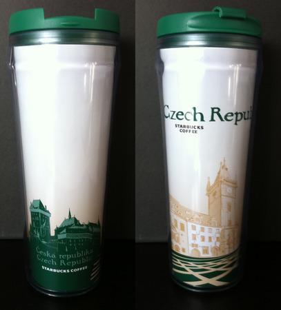 Starbucks City Mug Czech Republic Icon Tumbler