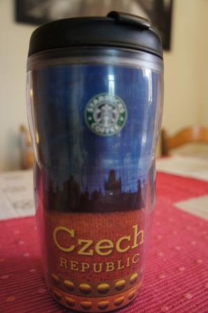 Starbucks City Mug Czech Republic Non-Icon Tumbler