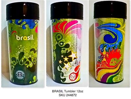 Starbucks City Mug Brazil - Psychedelic