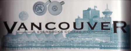 Starbucks City Mug Vancouver - Beautiful British Columbia 18 oz Mug