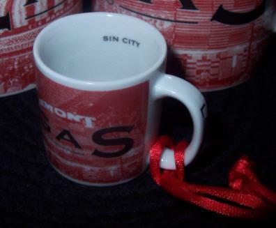 Starbucks City Mug Las Vegas \