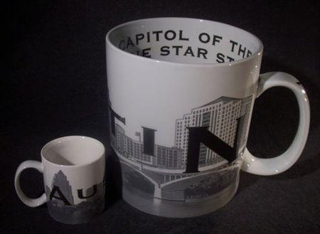 Starbucks City Mug Austin \