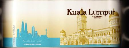 Starbucks City Mug Kuala Lumpur - Sultan Abdul Samad Building