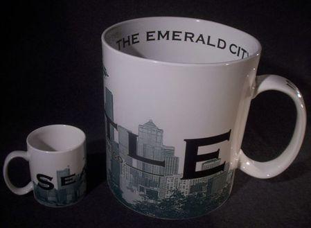 Starbucks City Mug Seattle \