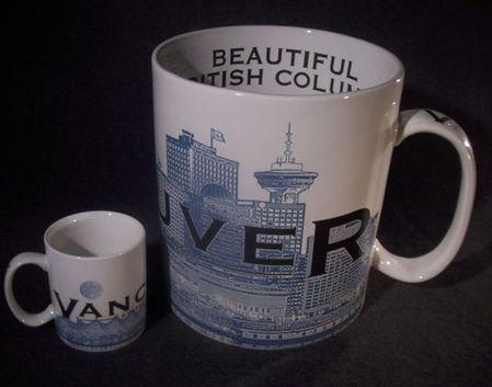 Starbucks City Mug Vancouver \