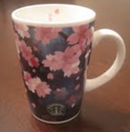 Starbucks City Mug Sakura 2005