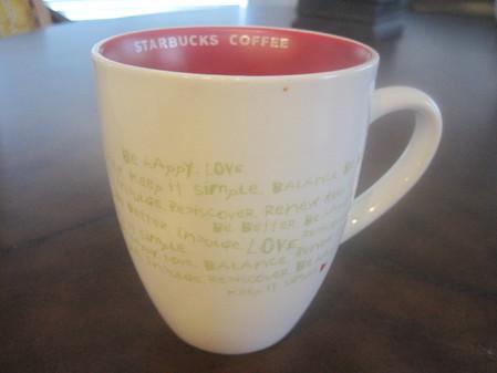 Starbucks City Mug China Valentine Mug