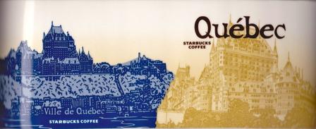 Starbucks City Mug Quebec - Château Frontenac