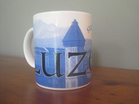 Starbucks City Mug Lucerne - Made in England 2002