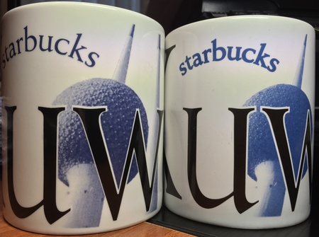 Starbucks City Mug Kuwait  - Made in England 2002