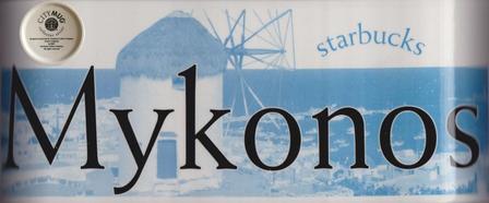Starbucks City Mug Mykonos-Made in England 2002