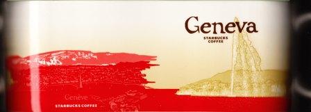 Starbucks City Mug Geneva - Jet d'Eau