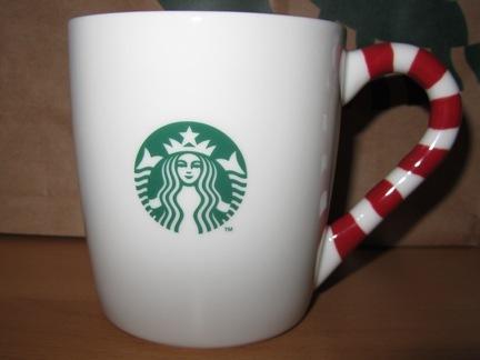 Starbucks City Mug Christmas Candy Cane