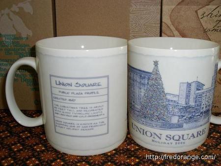 Starbucks City Mug Union Square
