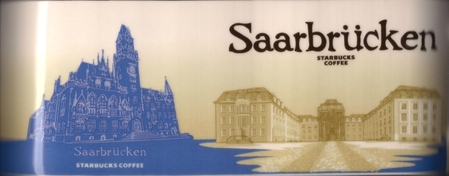 Starbucks City Mug Saarbrucken - Saarbrücker Schloss