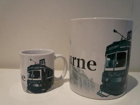Starbucks City Mug Melbourne - made in China