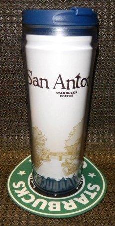 Starbucks City Mug San Antonio Icon Tumbler