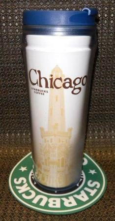 Starbucks City Mug Chicago Tumbler