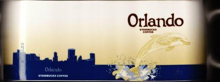 Starbucks City Mug Orlando - SeaWorld Orlando